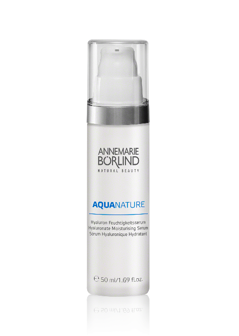 Aquanature Serum hidratant antiage cu acid hialuronic, 50 ml - Annemarie Borlind