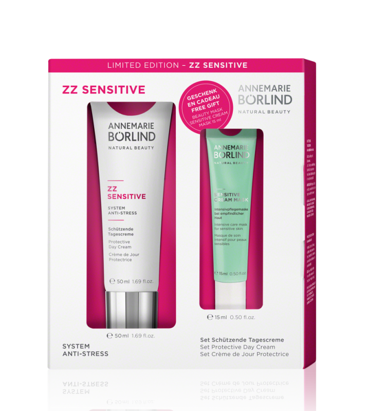 ZZ Sensitive Crema zi protectoare ten sensibil + CADOU Masca intensiva - Annemarie Borlind