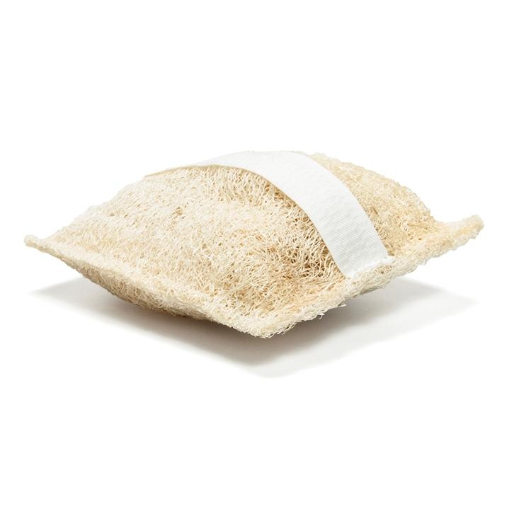 Burete natural exfoliant lufa pentru periaj umed sau uscat