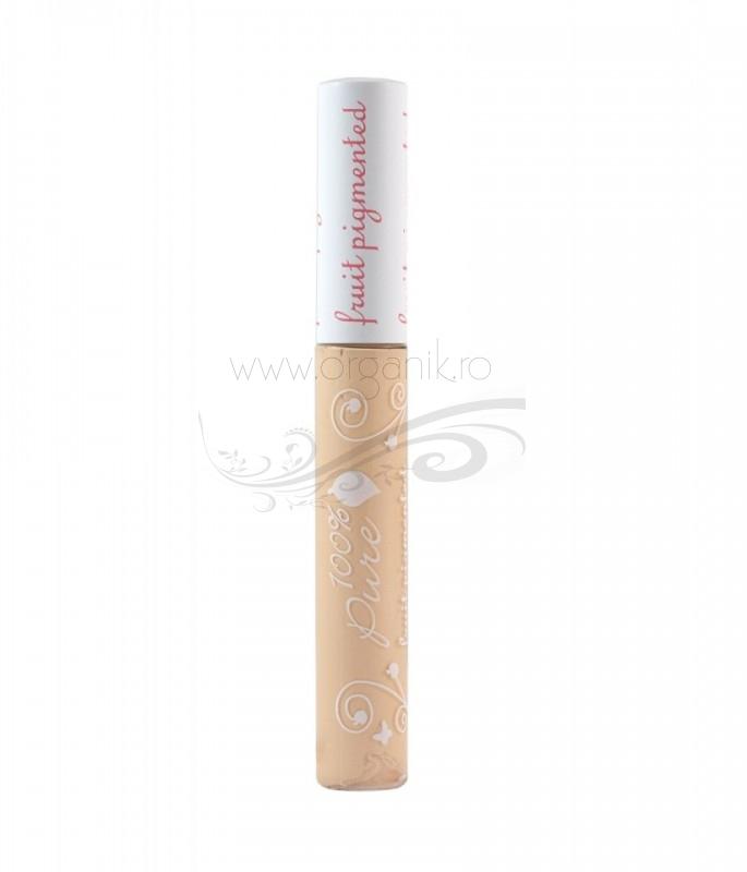 Corector iluminator cu protectie solara, Creme -100 Percent Pure Cosmetics