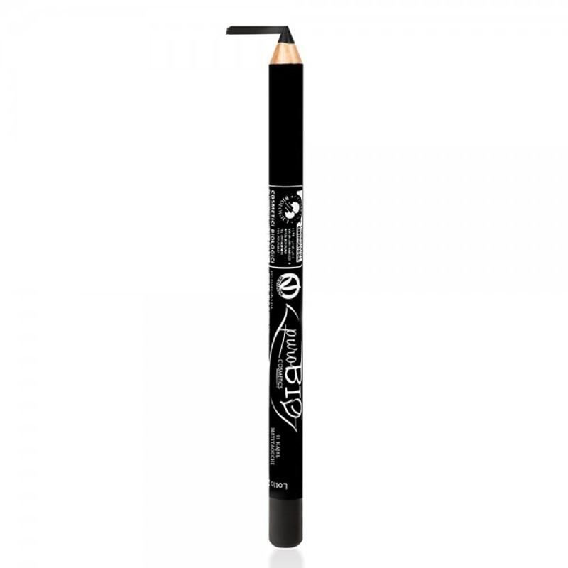 Creion de ochi kajal Negru 01 - PuroBio