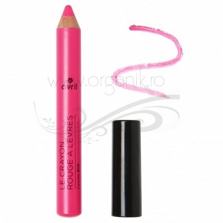 Creion ruj bio Rose Bonbon - Avril