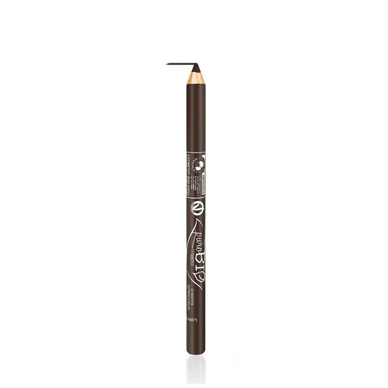 Creion bio pentru sprancene Maro Mediu no. 07 - PuroBio