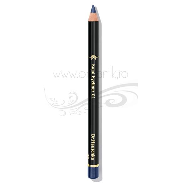 Creion de ochi kajal Albastru inchis 01 - Dr. Hauschka
