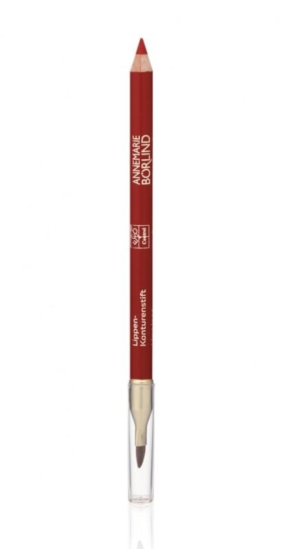 Creion contur cu pensula de buze, Red - Annemarie Borlind