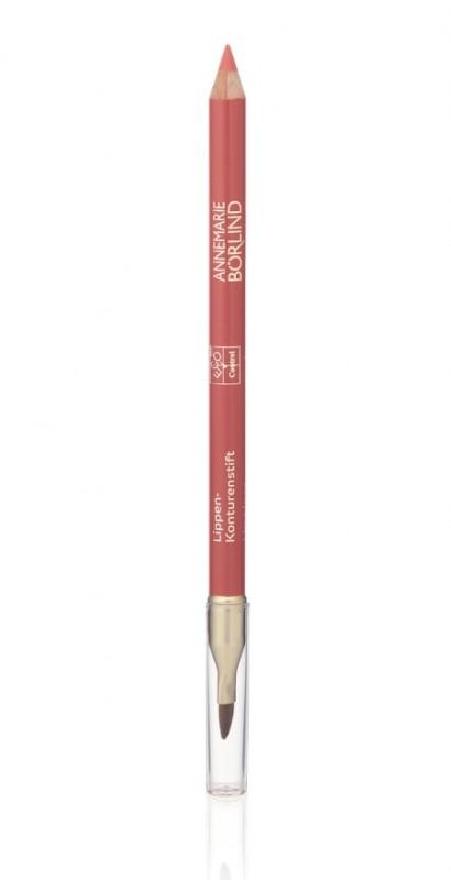 Creion contur cu pensula de buze, Rose - Annemarie Borlind