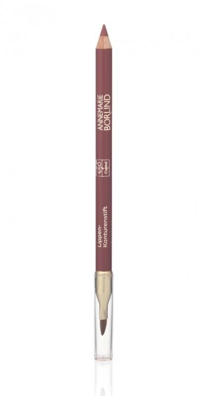 Creion contur cu pensula de buze, Rosewood - Annemarie Borlind