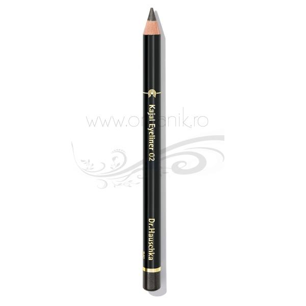 Creion de ochi kajal Gri 02 - Dr. Hauschka