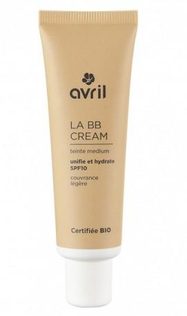 BB Cream cu protectie solara FPS10, Medium (ten mediu) - Avril