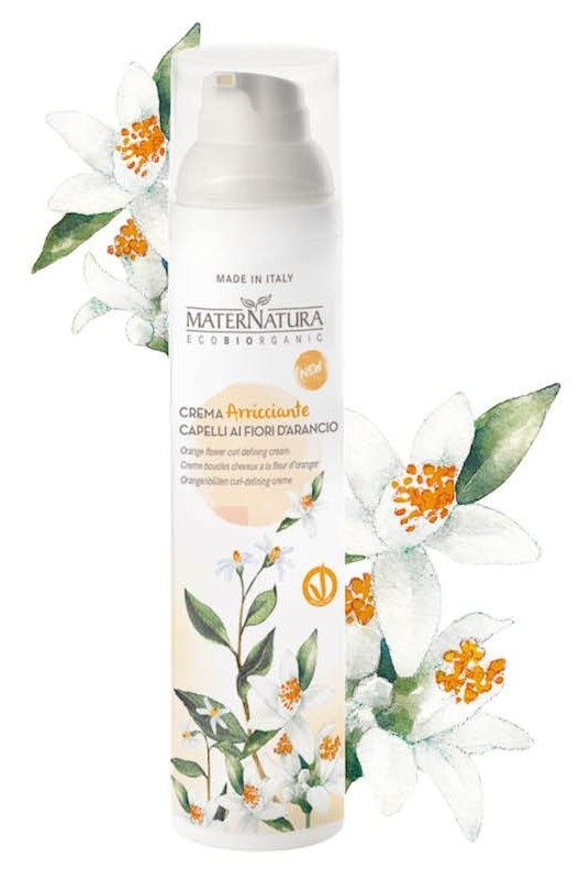 Crema definire bucle cu flori de portocal, 100ml - MaterNatura