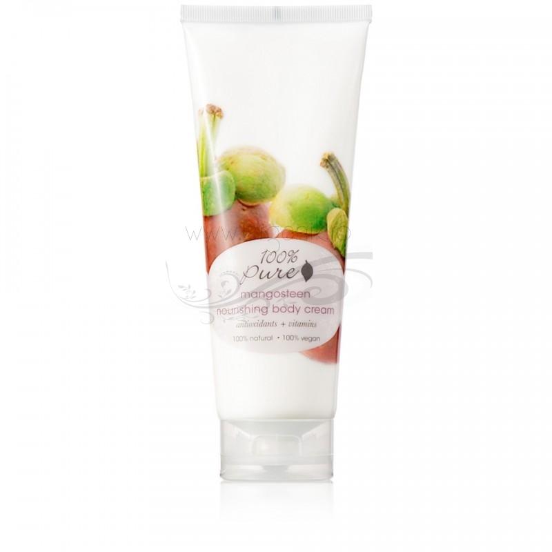 Crema hidratanta pentru corp cu aroma de mangustan - 100 Percent Pure Cosmetics
