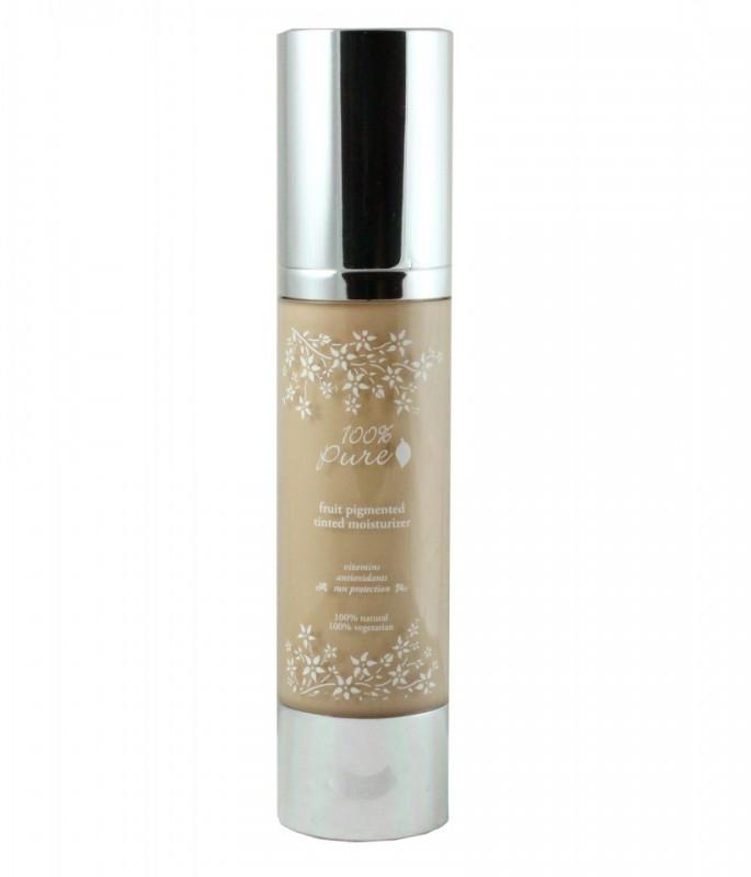 Crema hidratanta nuantatoare cu antioxidanti, White Peach - 100 Percent Pure Cosmetics