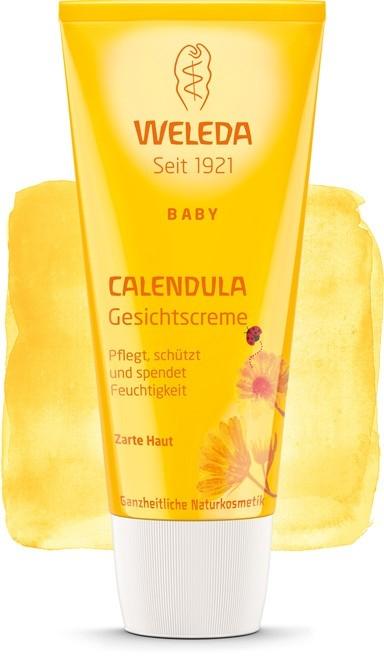 Crema de fata cu galbenele, 50 ml -  Weleda Baby