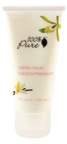 Crema de maini hranitoare cu boabe de vanilie - 100 Percent Pure Cosmetics