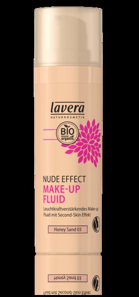 Fond de ten translucid iluminator Nude Effect, Honey Sand 03 - LAVERA