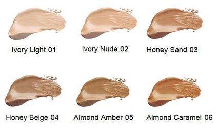 Fond de ten BIO lichid Almond Caramel 06 - LAVERA