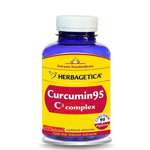 Curcumin95 C3 Complex, 120 capsule  - HERBAGETICA