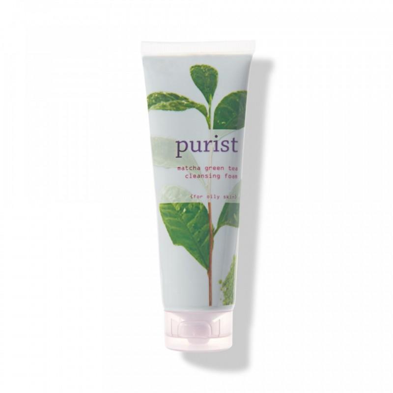 Demachiant cu ceai verde Matcha pentru ten gras, Purist - 100 Percent Pure Cosmetics