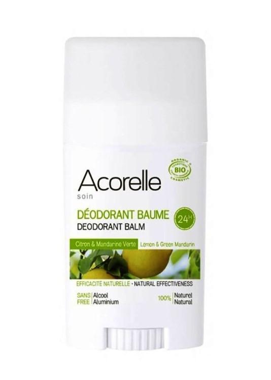 Deodorant stick cu bicarbonat Lamaie & Mandarine - Acorelle