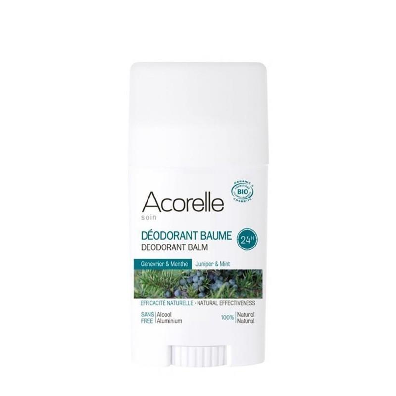 Deodorant stick cu bicarbonat Ienupar & Menta - Acorelle