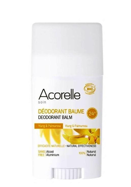 Deodorant stick cu bicarbonat Ylang & Palmarosa - Acorelle