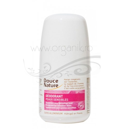 Roll on bio - deodorant natural piele sensibila - Douce Nature