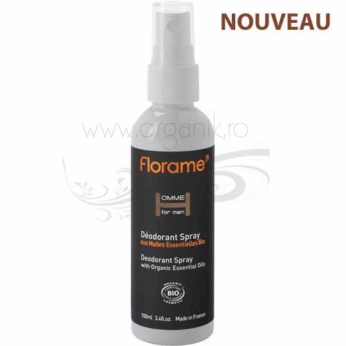 Deodorant bio Homme, spray 100 ml - Florame