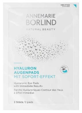 Comprese pentru ochi cu acid hialuronic, efect imediat - Annemarie Borlind