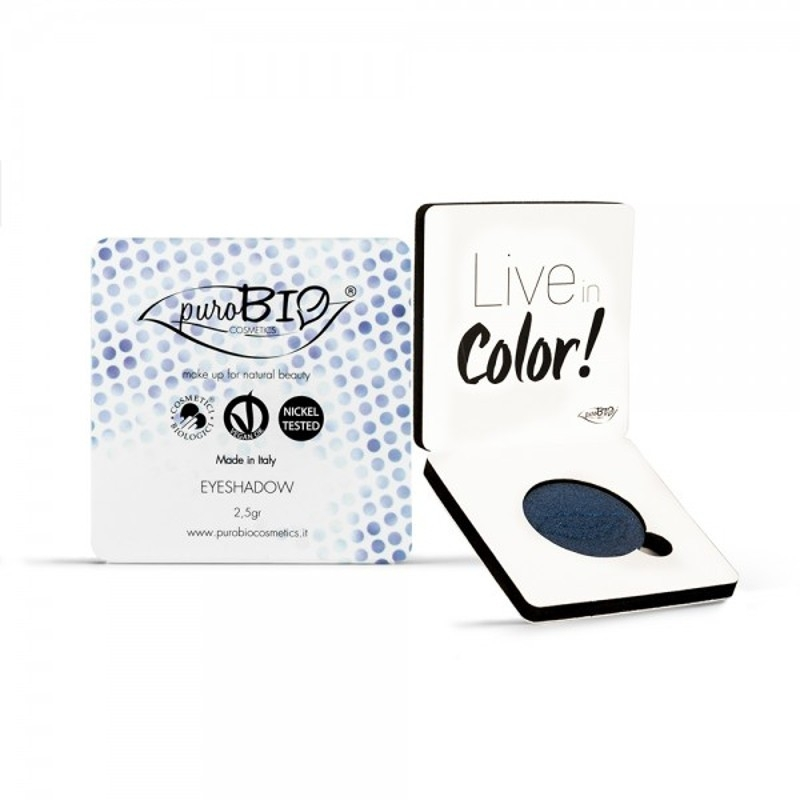 Fard pleoape bio Blu no. 7 - PuroBio
