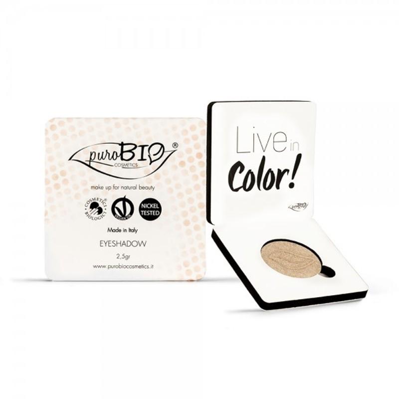 Fard pleoape bio Sampanie no. 1 (sidefat) - PuroBio