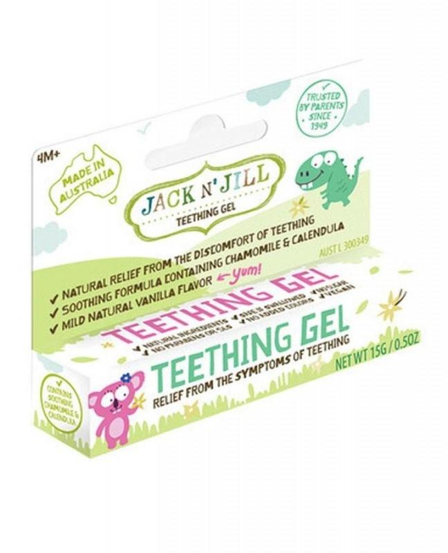 Gel calmant natural pentru eruptii dentare bebelusi, 15g - Jack n' Jill
