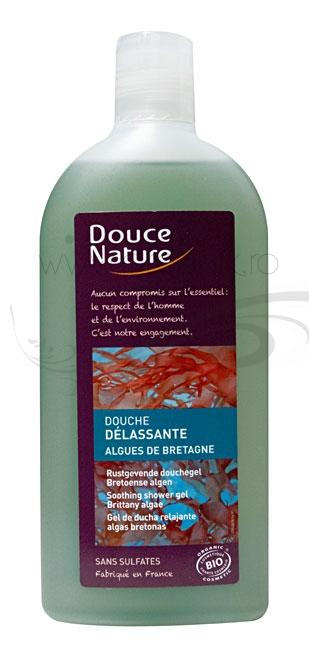 Gel de dus relaxant cu alge de Bretania, 300 ml - Douce Nature