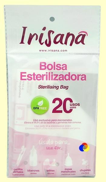 Punga sterilizatoare pentru cupa menstruala, 20 utilizari - Iriscup