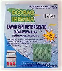 Ecobag cu bile ceramice pentru masina de spalat vase, 1000 spalari - Irisana