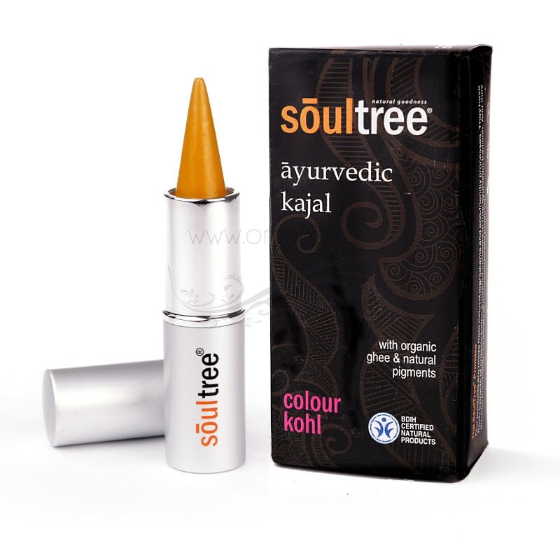 Kohl Kajal traditional ayurvedic, Gold - SoulTree
