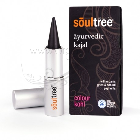 Kohl Kajal traditional ayurvedic, Pure Black - SoulTree