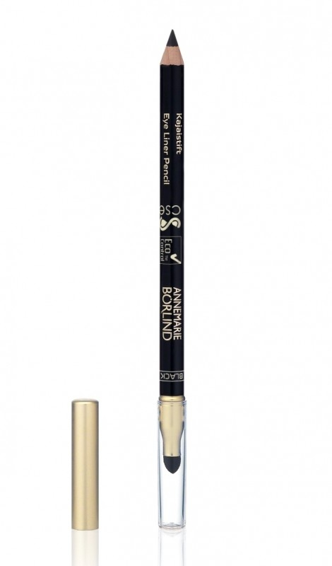 Creion contur ochi cu aplicator Black (negru) - Annemarie Borlind