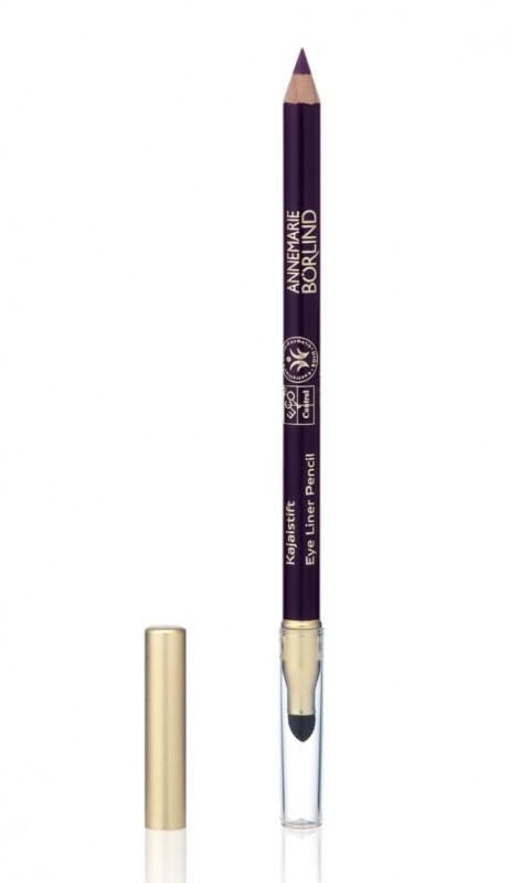 Creion contur ochi cu aplicator Violet Black (mov inchis) - Annemarie Borlind