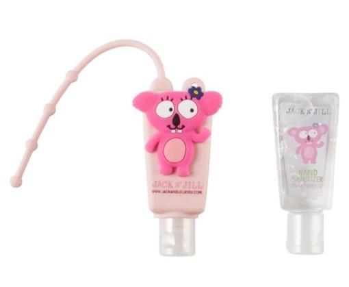Gel antibacterian pentru maini Koala, cu suport si rezerva 2 x 29ml - Jack n' Jill