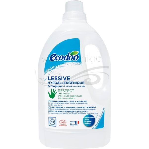 Detergent bio hipoalergenic  FARA PARFUM pentru bebelusi sau piele sensibila, 1.5 L - Ecodoo