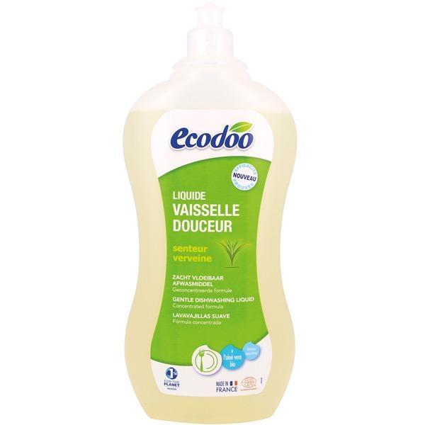 Detergent de vase cu aloe vera si verbina, 1L - Ecodoo