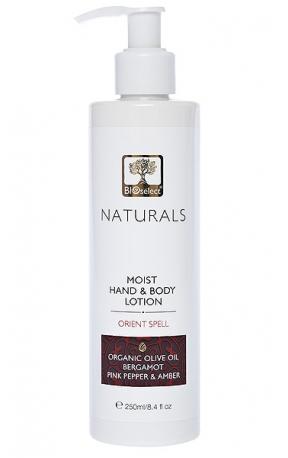 Lotiune hidratanta parfumata pentru maini si corp Orient Spell, 250ml - BIOselect Naturals