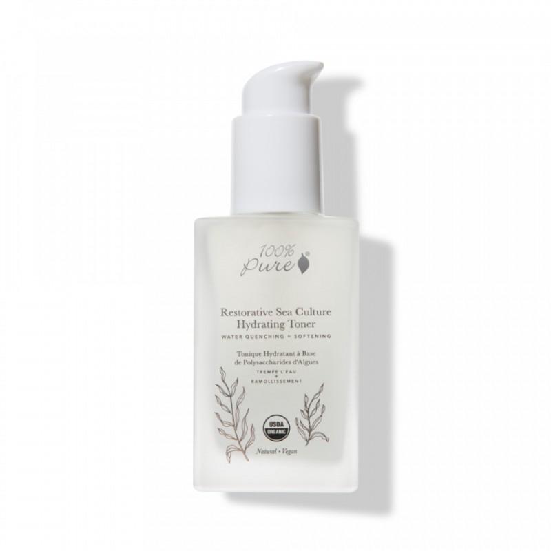 Lotiune tonica reparatoare si hidratanta cu alge marine Sea Culture - 100 Percent Pure Cosmetics