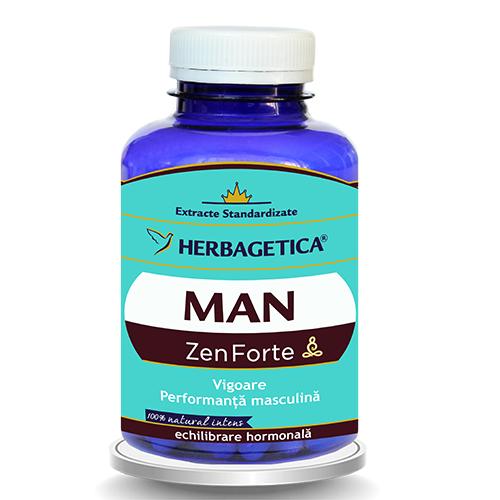 Man Zen Forte, 120 capsule - HERBAGETICA