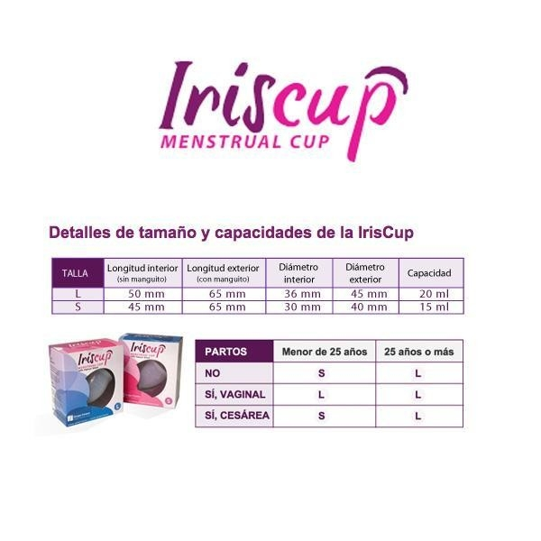 Cupa Menstruala (Marimea L) Roz - Iriscup