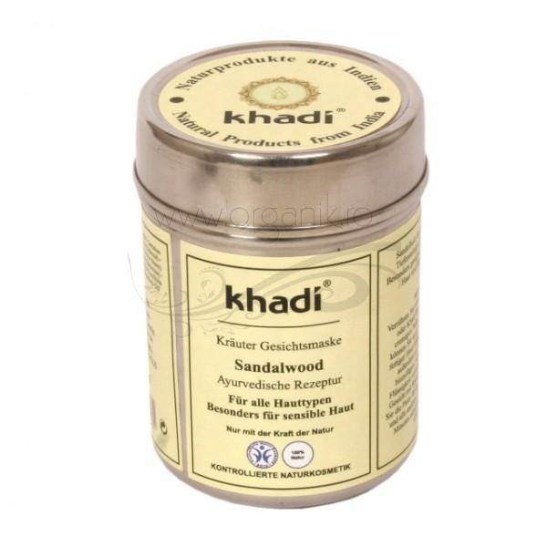 Masca pentru  ten si corp cu lemn de santal - Khadi