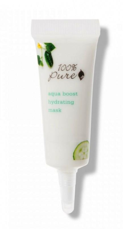 Masca hidratanta Aqua Boost, 8ml - 100 Percent Pure Cosmetics