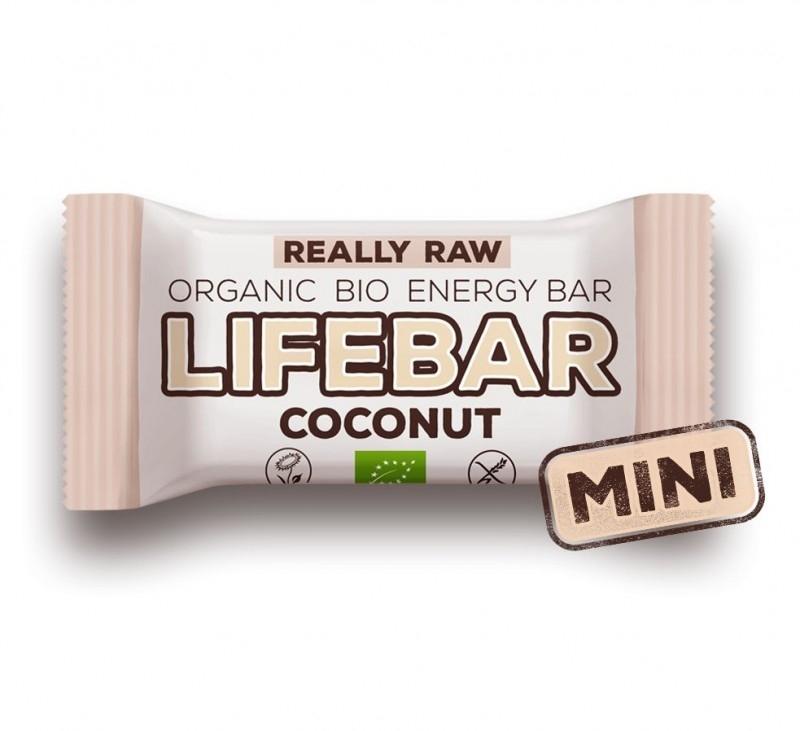 Baton cu nuca de cocos raw bio, 25g - Lifebar