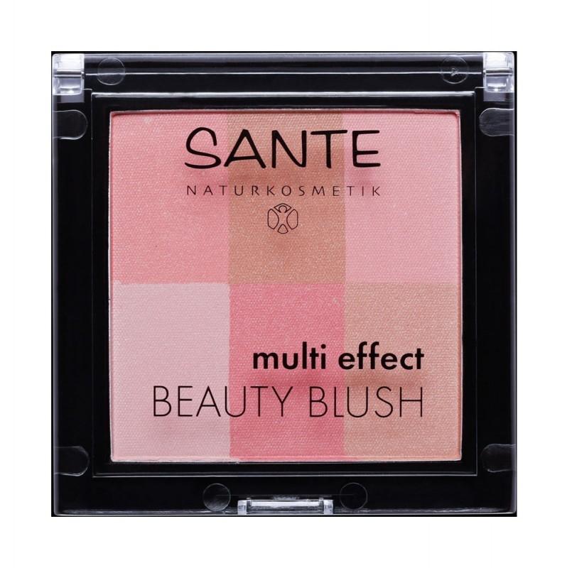 Fard de obraz multi-efect Beauty Blush 01 Coral - SANTE NATURKOSMETIK