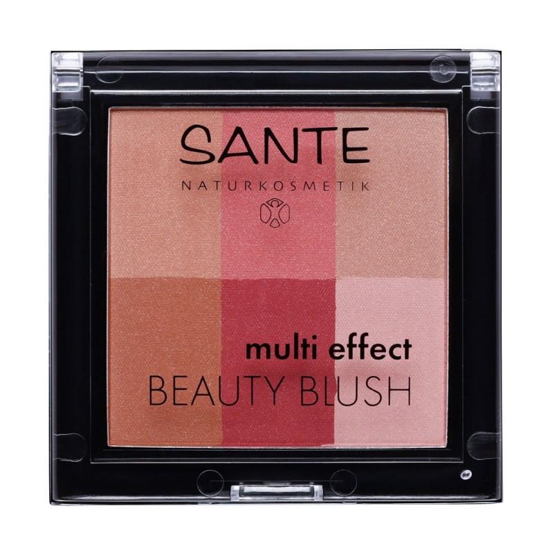 Fard de obraz multi-efect Beauty Blush 02 Cranberry - SANTE NATURKOSMETIK